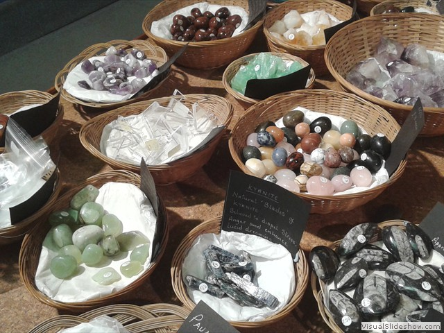 The Old Forge Fossil Shop - Crystals