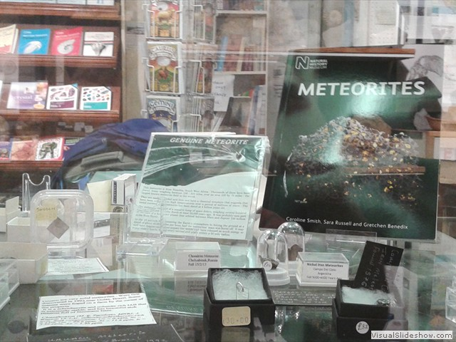 The Old forge Fossil Shop - Meteorites